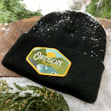 Oregon Rogue River Vintage | Knit Beanie