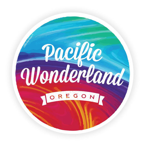 Pacific Wonderland Oregon | Refrigerator Magnet