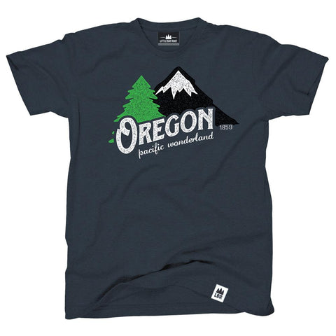 Oregon Pacific Wonderland Vintage | Adult T-Shirt
