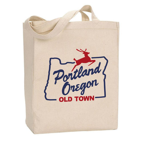 White Stag Sign Oregon Portland | Tote