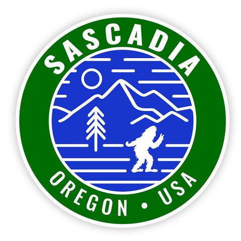 Sascadia Oregon | Sticker