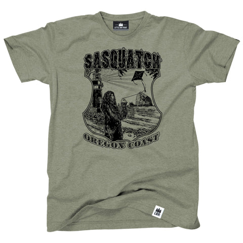 Sasquatch Oregon Coast | Adult T-Shirt