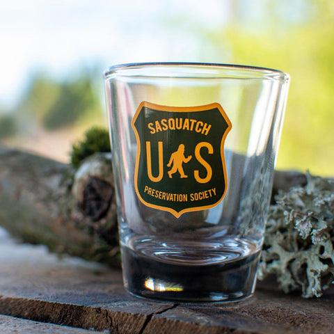 Sasquatch Preservation Society | Shot Glass