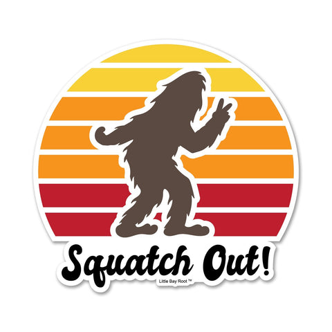 Squatch Out | Sticker