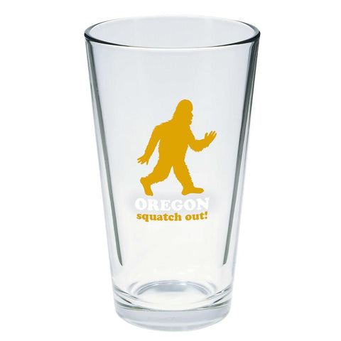 Squatch Out Oregon | Pint Glass