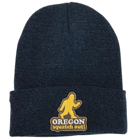 Squatch Out Oregon | Knit Beanie