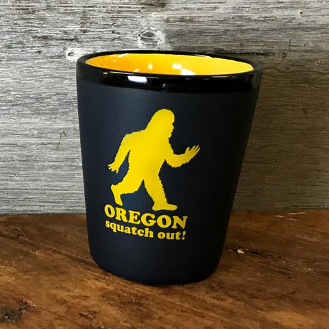 Squatch Out Oregon | Shot Glass