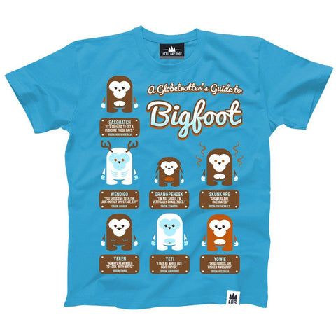 A Globetrotter's Guide to Bigfoot | Youth T-Shirt