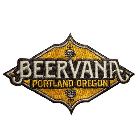 Beervana Portland | Embroidered Patch
