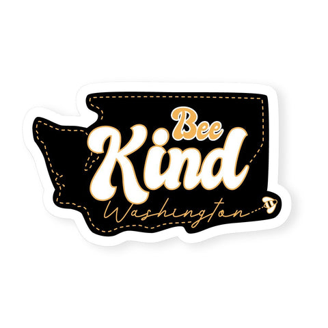 Washington Bee Kind | Sticker