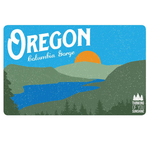 Oregon Columbia Gorge Vintage | Postcard