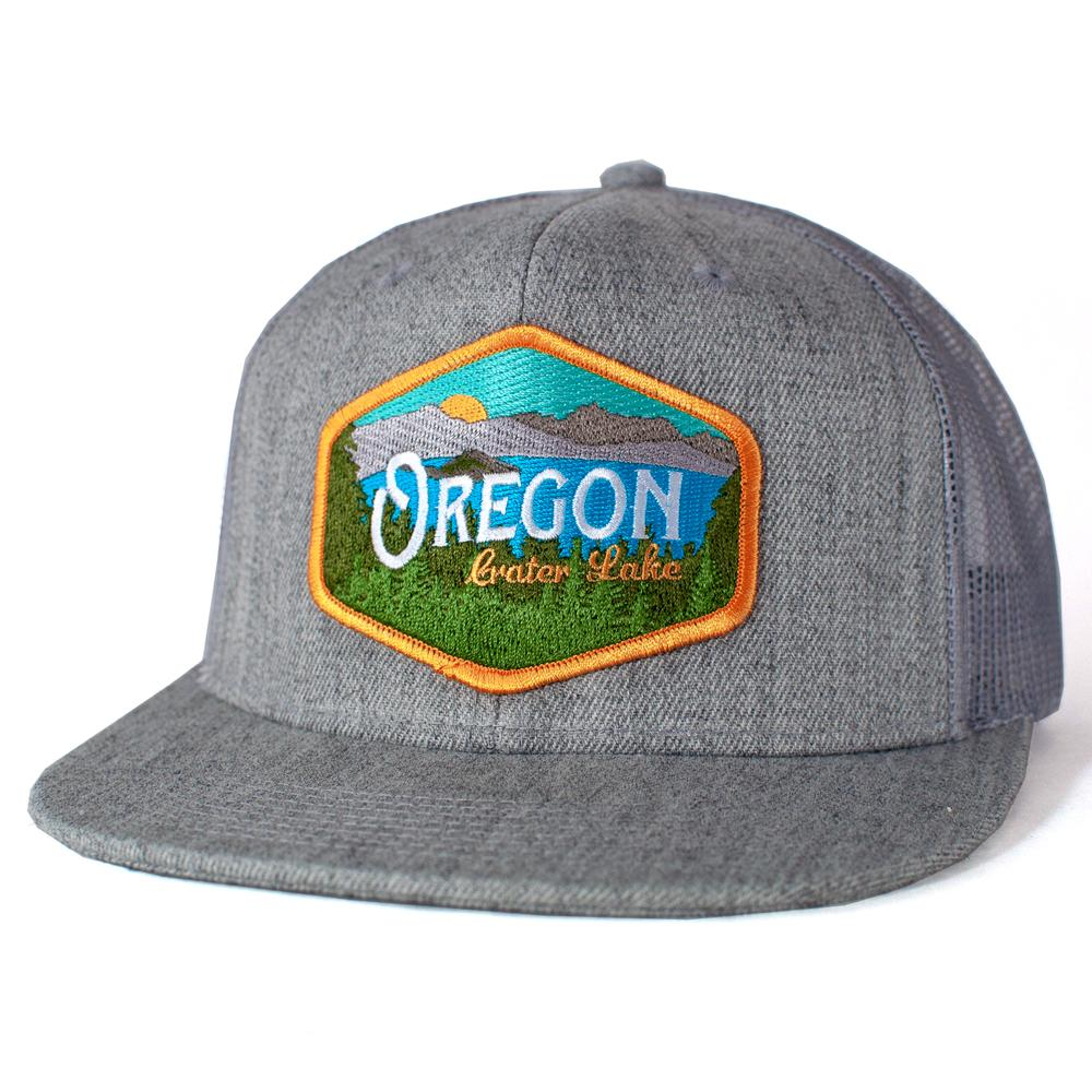 Oregon Crater Lake Vintage | Trucker Hat