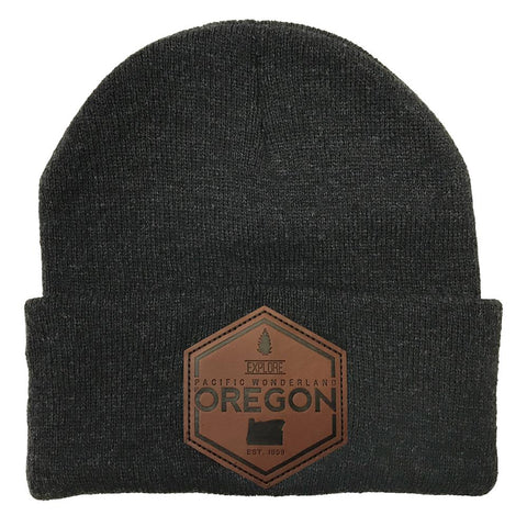 Explore Oregon | Knit Beanie