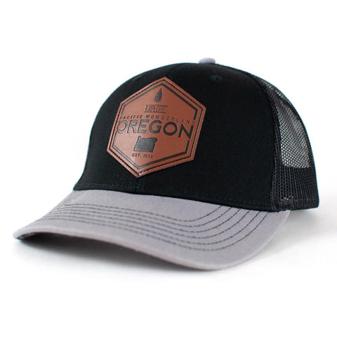 Explore Pacific Wonderland Oregon with wool-lined brim | Curved Bill Trucker Hat