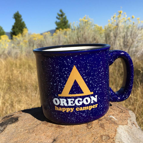 Happy Camper Oregon | Coffee Mug