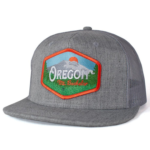 Oregon Mt. Bachelor Vintage | Trucker Hat