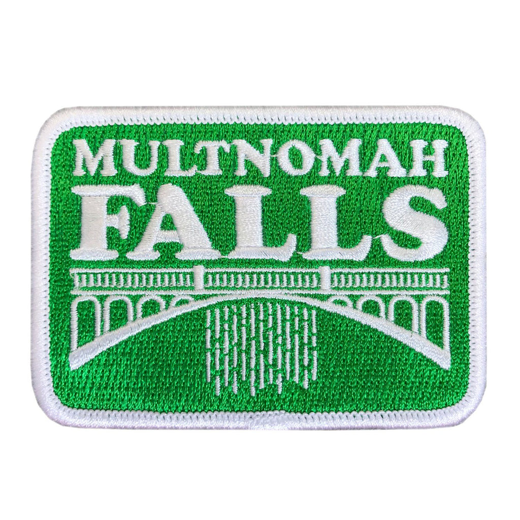 Multnomah Falls Oregon | Embroidered Patch