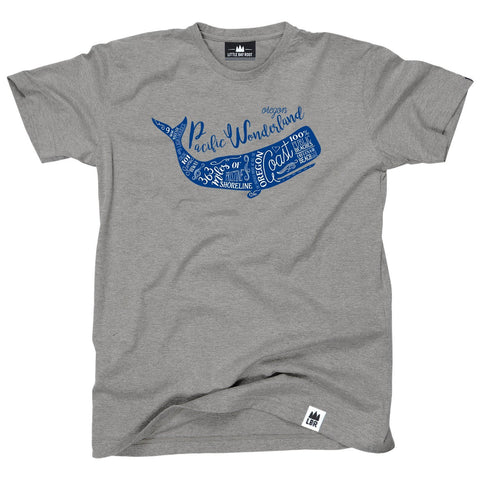 Oregon Coast Whale T-shirt