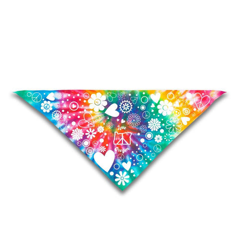 Peace, Love and Oregon | Dog Bandana