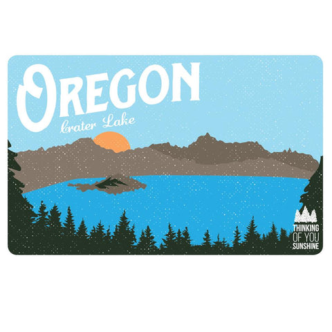 Oregon Crater Lake Vintage | Postcard