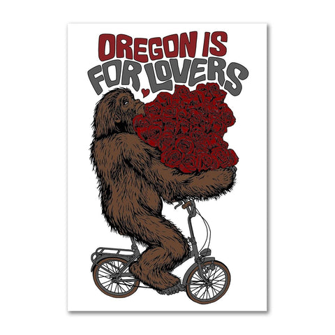 Oregon is for Lovers | Refrigerator Magnet