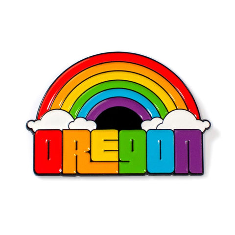 Oregon Dreaming | Enamel Lapel Pin