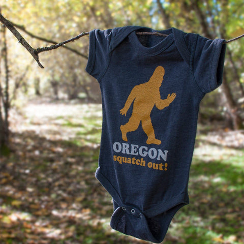 Squatch Out Oregon | Onesie