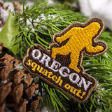 Squatch Out Oregon | Embroidered Patch