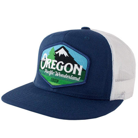 Oregon Pacific Wonderland Vintage | Trucker Hat