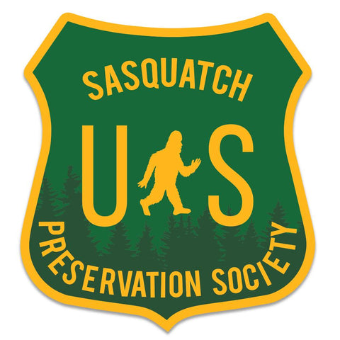 Sasquatch Preservation Society | Sticker