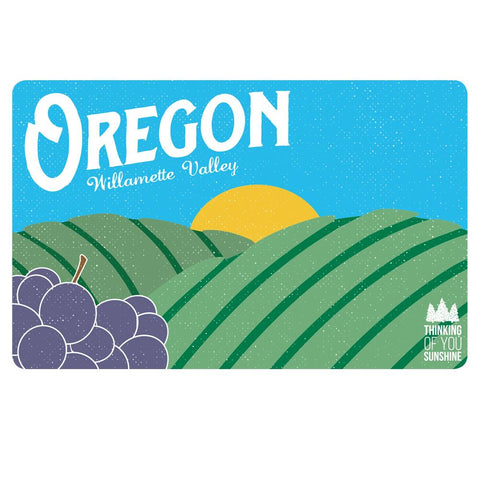 Oregon Willamette Valley Vintage | Postcard 3 Pack