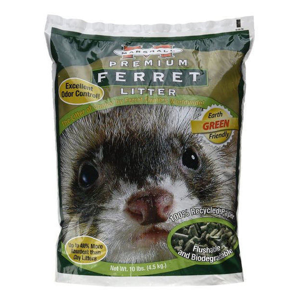 Litter/Odor - Marshall Ferret Litter 10 lb bag