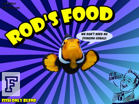 Frozen food - Rods Fish Only 2oz
