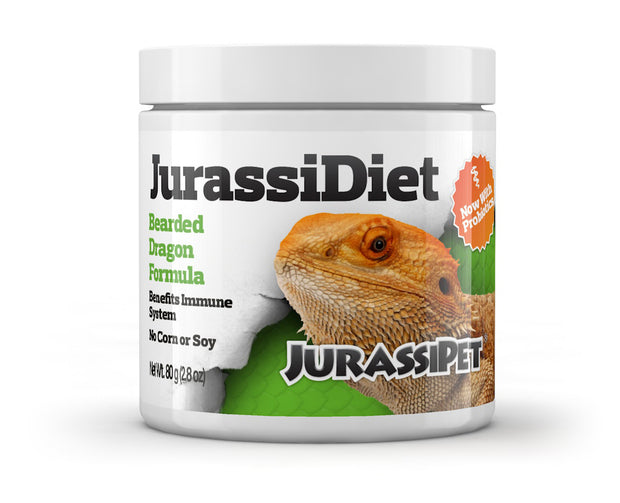 JurassiDiet - Bearded Dragon w/Probiotics
