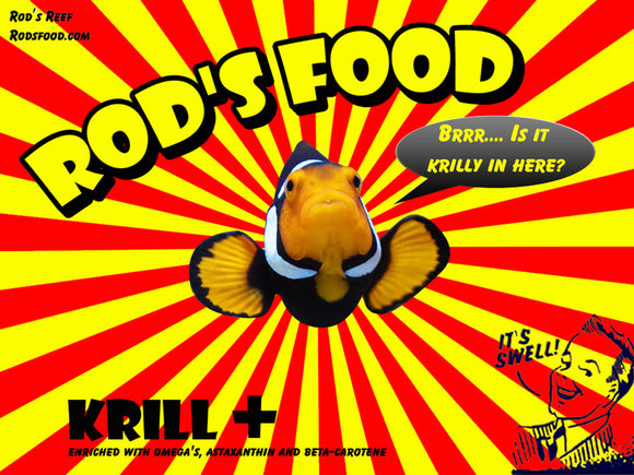 Frozen food - Rods Krill +