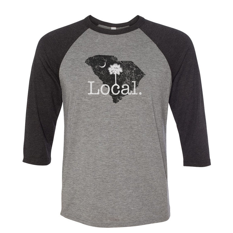 Local Baseball Raglan Tee