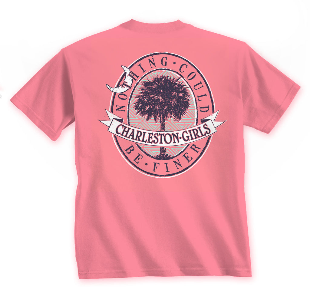 Charleston Girls Greek Pattern