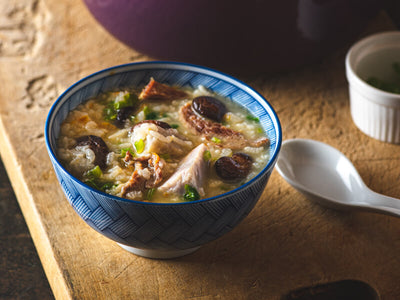 芋頭鹹粥(食譜影片) | Taiwanese Taro and Pork Porridge