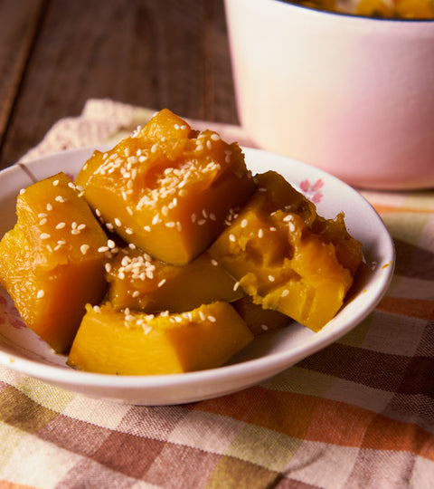 日式煮南瓜(食譜影片) | Braised Pumpkin with Sweet Soy Sauce