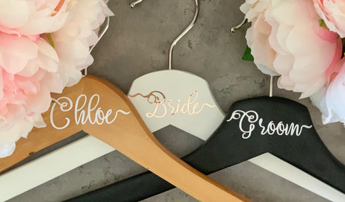 Personalised Wedding Hangers