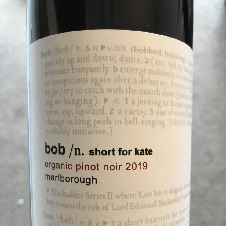 Ben Glover BOB/Short for Kate Pinot Noir