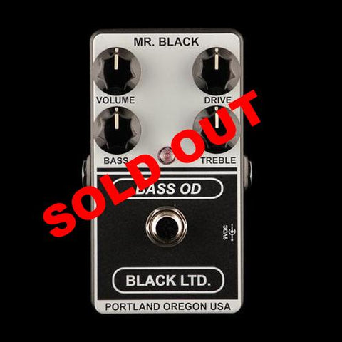 Black LTD. Bass OD