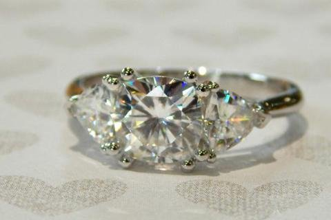 Moissanite Engagement Rings, An Affordable Option