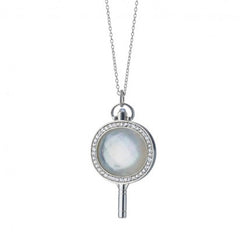 Monica Rich Kosann Mother of Pearl Pocket Watch Charm