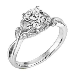 Artcarved Diamond Engagement Ring Under $2500 at BenGarelick.com