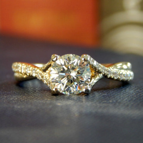 Belle Diamond Engagement Ring