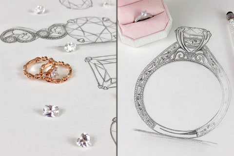 Custom Design Your Engagement Ring at Ben Garelick