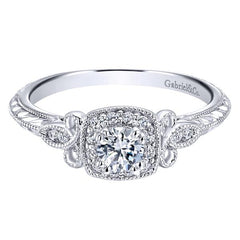 Affordable Pre-set Diamond Engagement Rings at BenGarelick.com