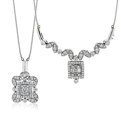 Simon G. Convertible Diamond Pendant LP4512
