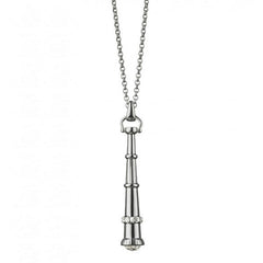 "Monica Rich Kosann Sterling Silver ""Curiosity Telescope"" Necklace"